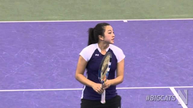 Womens Tennis – Penn State Highlights (3/30/14)