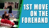 TENNIS FOREHAND LESSON | 1st Move On The Tennis Forehand