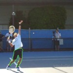Novak Djokovic Tennis Lesson – Serving