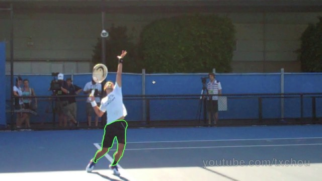 Novak Djokovic Tennis Lesson – Serving