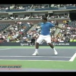 Video Tennis Technique Federer Djokovich Nadal Serve Forehand Backhand Return Top Spin Slice (2).swf