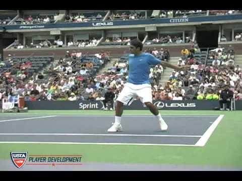 Video Tennis Technique Federer Djokovich Nadal Serve Forehand Backhand Return Top Spin Slice (2).swf