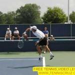 Tomas Berdych super slow motion tennis serve