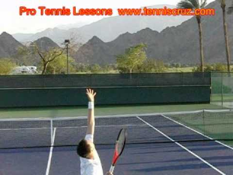 Master The Slice Tennis Serve Slow Motion Robin Soderling