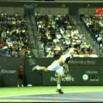 Video Tennis Technique Federer Djokovich Nadal Serve Forehand Backhand Return Top Spin Slice (2).mp4