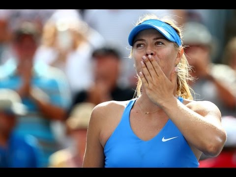Maria Sharapova vs Garbine Muguruza Montreal 2014 Highlights