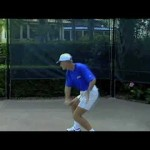 Tennis – One – Handed Backhand Follow Through And Finish | Tom Avery Tennis 239.592.5920