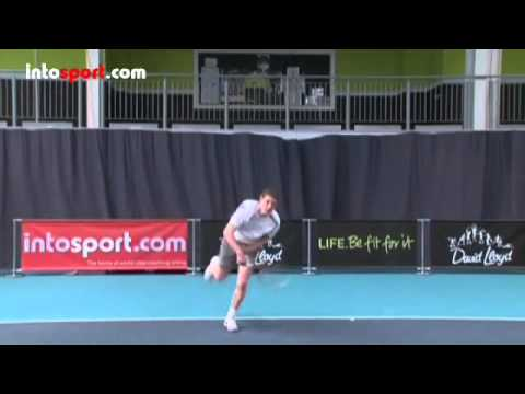 Tennis Serve   Basic Serve Technique