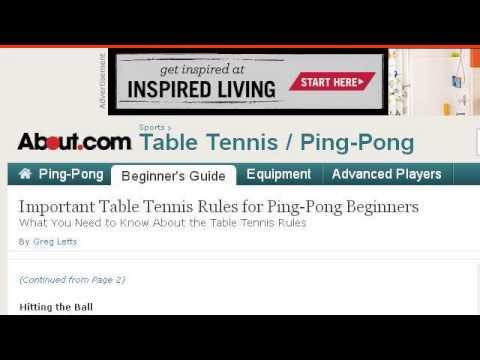 Beginner Tennis Doubles Rules