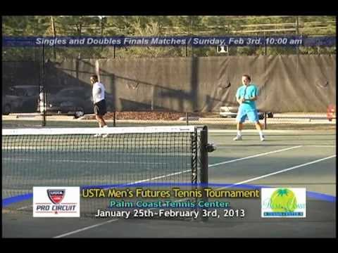 USTA Men's Pro Circuit Futures Tennis Tournament Highlights 2013