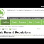 Rules And Terms In Tennis
