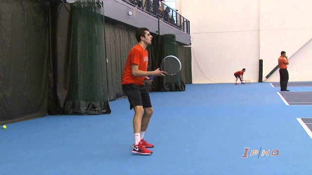 Illinois Men's Tennis vs USF Highlights 3/14/14