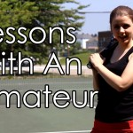 Tennis Lessons With An Amateur (Summer Sports Week) – Katie