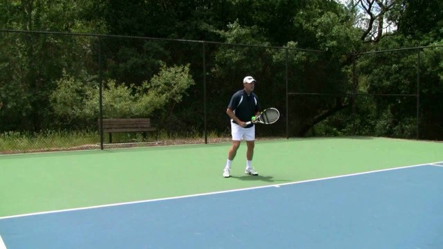 Tennis Forehand – Start At The Finish Position