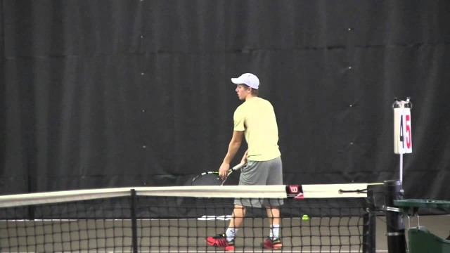 2014 Coe College Men's Tennis vs. Elmhurst