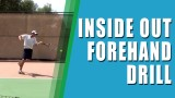 *INSIDE OUT FOREHAND*   Inside Out Forehand Drill