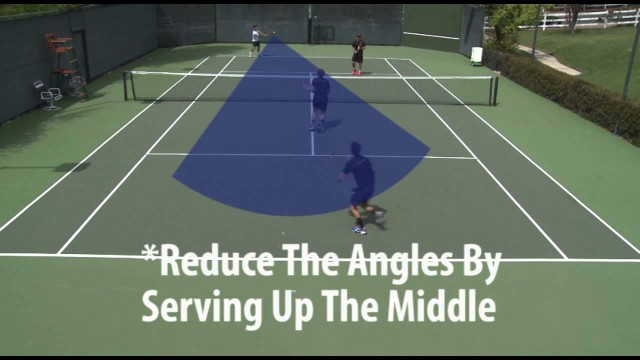 Elite Tennis Training: How To Win With Your Serve In Doubles