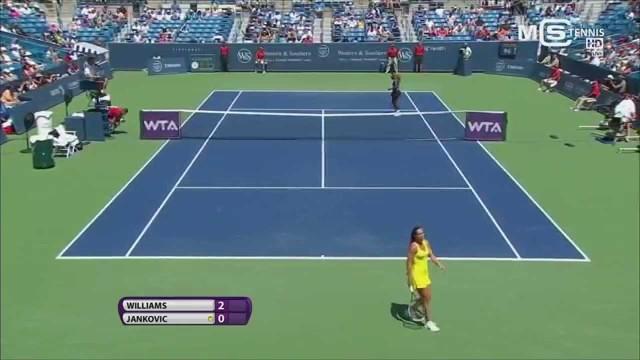 Serena Williams vs Jelena Jankovic, Cincinnati Open 2014 (1/4 Finale), highlights HD