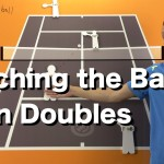 How to Watch the Ball in Doubles – Tennis Doubles Strategy Lesson