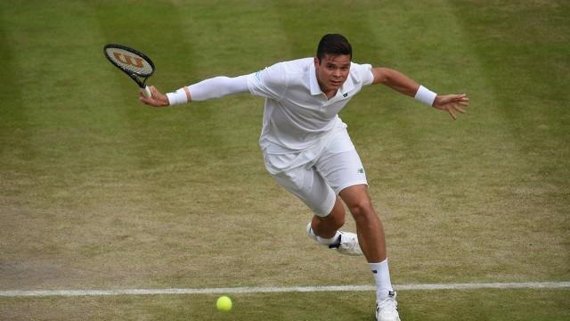2014 Wimbledon 1/4 Milos Raonic vs Nick Kyrgios