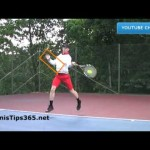 Forehand Tennis Lesson 4 – The Non-Dominant Arm – left-handed