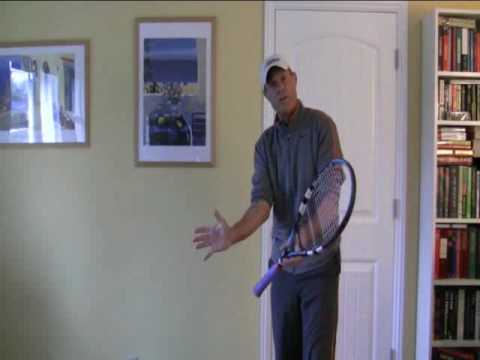Tennis Forehand – How The Fingertips Influence Topspin