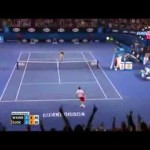 Stanislas Wawrinka match point vs Novak Djokovic 2014 Australian Open 21/01/2014