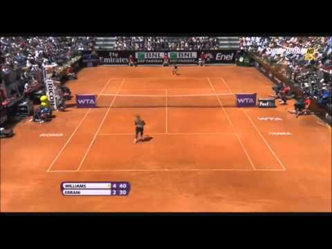 Serena Williams vs Sara Errani ~ Highlights ~ WTA Rome 2014 (Final)