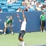 Video Tennis Technique Federer Djokovich Nadal Serve Forehand Backhand Return Top Spin Slice