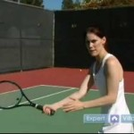How to Play the Sport of Tennis : How to Slice the Ball in the Sport of Tennis