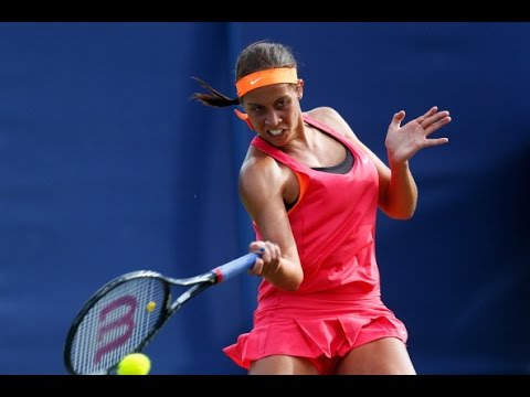 Madison Keys vs Alize Cornet 2014 Cincinnati Highlights