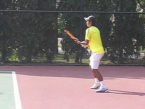 Forehand Tennis Lesson:  Modern Forehand Arm Snap