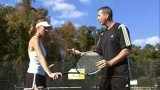 A Tennis Tip From Pete and Skip: The Slice Backhand