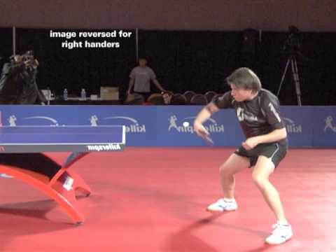 How to Backhand Loop Off Push | Killerspin Table Tennis