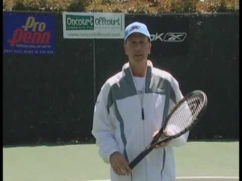 Tennis Lessons – Improve your feel racquet handling skills – Tennis Tips