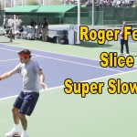Roger Federer Slice Backhand In Slow Motion – BNP Paribas Open 2013