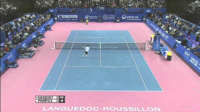 Montpellier 2014 Final Highlights Gasquet Monfils