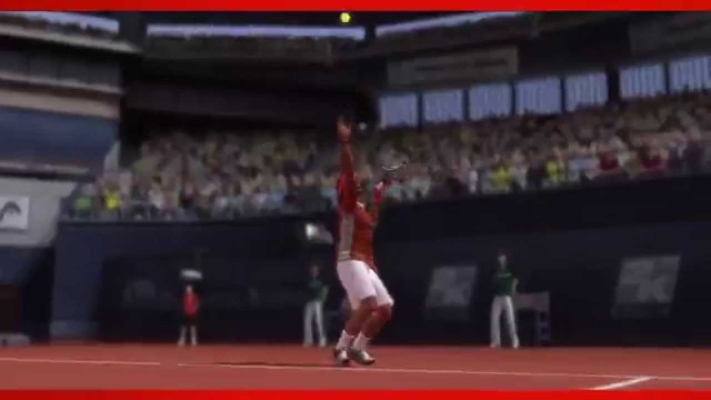 Official Top Spin 4 Championship tennis Novak Djokovic HD video game trailer – PS3 X360 Wii