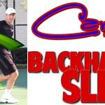 Tennis Slice Backhand Lesson 2 | Crazy Curve! (Top Speed Tennis)