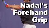 Rafael Nadal Forehand Grip Revealed – Grip Tennis Instruction – Grip Lesson