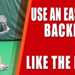 ONE HAND BACKHAND TENNIS TIP | Use An Eastern Backhand Grip Like The Pros