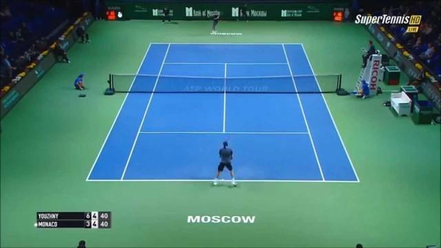 Mikhail Youzhny vs Juan Monaco 2014 MOSCOW Highlights [HD]