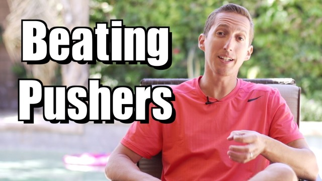 Dealing With Pushers – Ask Ian #1 – Video Tennis Lesson