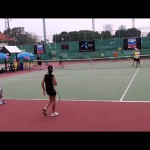 Tennis Coaching Games for Children or Adults:  Purgatory