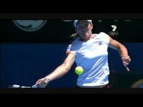Justine Henin – Topspin Forehand