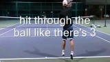 Tennis Lesson:  How to Hit a High Forehand