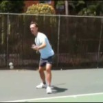 Tennis Lesson: Forehand Before & After