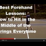 Forehand Tennis Lesson: Best Drill in the World to Hit a Solid Forehand Everytime