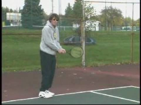 Intermediate Tennis Lessons : Backhand Return of Serves in Tennis