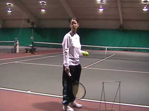 Tennis Lessons: How to Hit a Tennis Serve